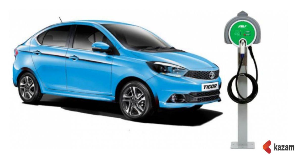 Tata Tigor EV,Mahindra eKUV 100,Electric cars,EVs,Kazam