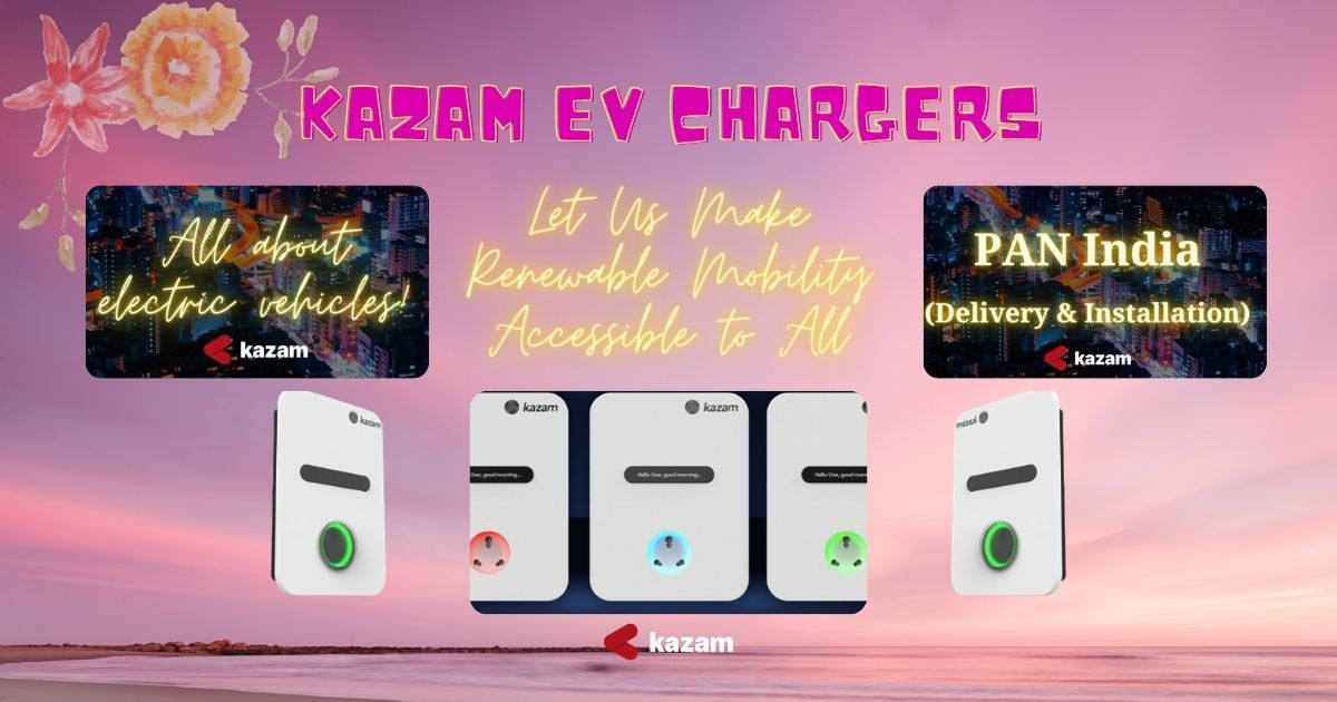 AC Charger, DC Charger, Kazam EV, Kazam Chargers, Ev Charging Stations, EV Charging Station, Kazam EV Chargers, EV Charging Station, EV Charger, Electric Vehicle Charging Station, startups, startup, renewable mobility, Kazam EV, Best Charging Stations, Best EV chargers, PAN India, Kazam AC Chargers, Electric Bike, Electric two wheeler, Electric car, Kolkata EV policy, Kolata, West Bengal EV policy, West Bengal, State-owned Energy Efficiency Services Ltd (EESL), EESEL, State-owned Energy Efficiency Services Ltd