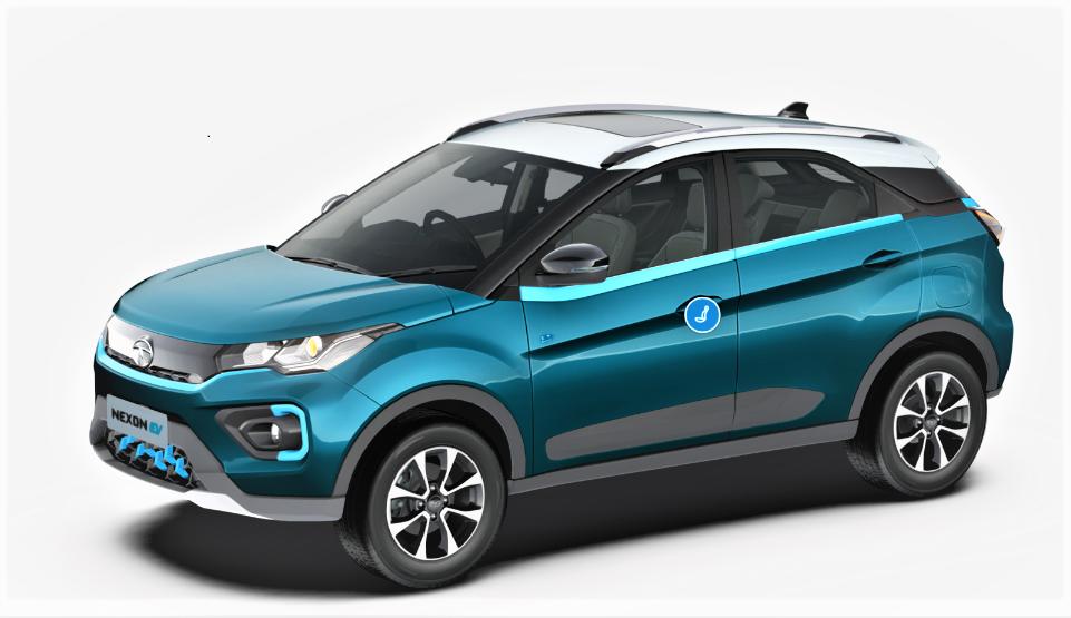 Tata Nexon - Electric Compact SUV<br>