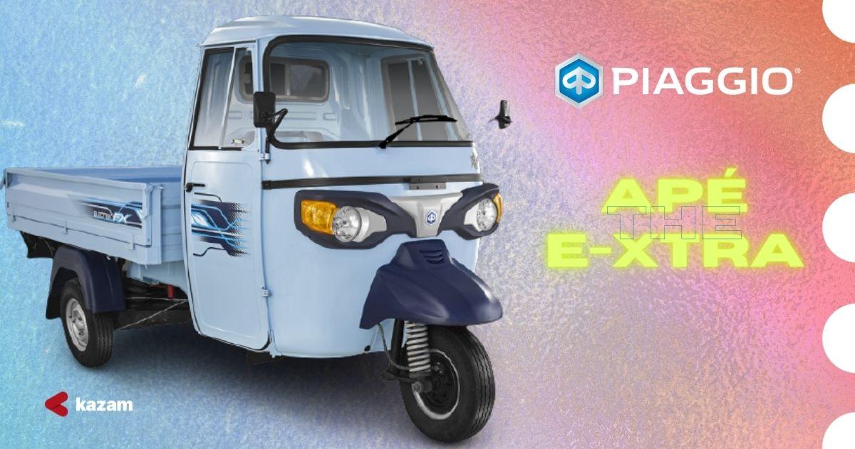 Piaggio Apé E-Xtra FX   Vehicle Image source (Piaggio)