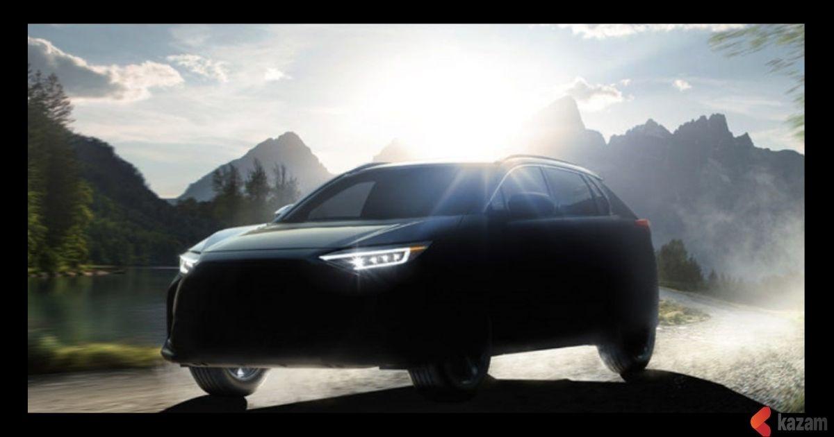 Subaru,The First,Electric Car,Solterra,EVs,Kazam